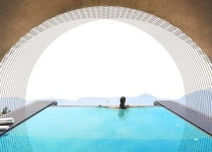 gloriette guesthouse dolomieten zwembad
